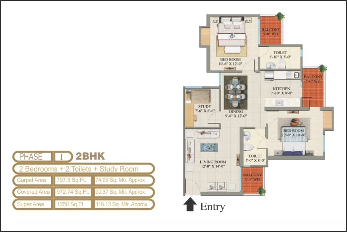 2 BHK & 3 BHK Flat for Sale in Raj nagar Extension